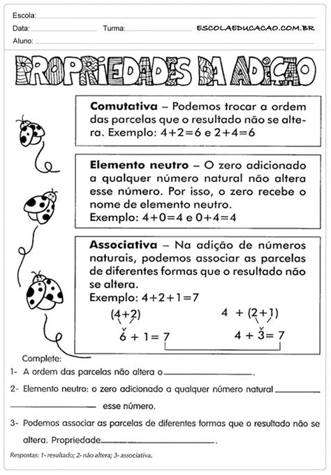 Atividades de Matemática - 5º ano - Para Imprimir