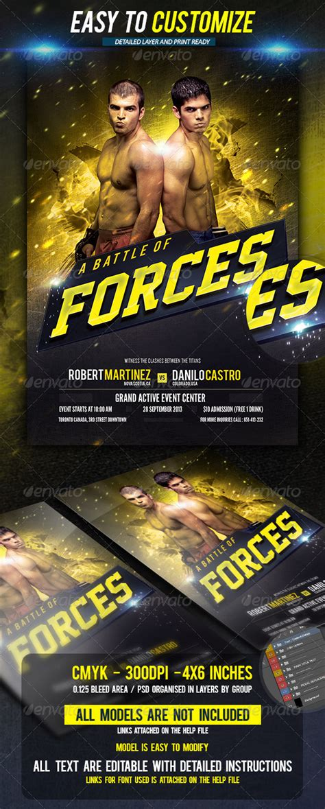 fight card template mma fight card template 187 dondrup