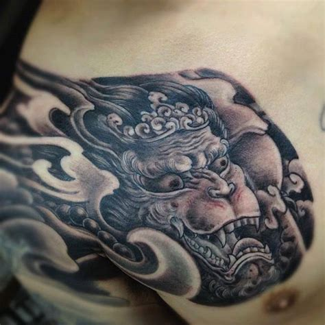 chest plate tattoo hanuman chest plate inner vision