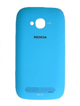 Battery Cover Lumia 710 Original nokia lumia 710 cyan battery cover
