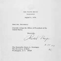 Richard Nixon Resignation Letter by Nixon Resignation Speech Nixon Resigns His Farewell And Resignation Letter