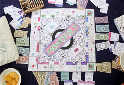 How To Make Printer Paper Feel Like Money - diy personalised monopoly board