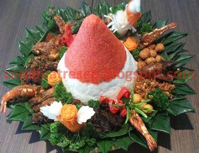 cara membuat nasi uduk beserta lauk pauknya cara membuat nasi tumpeng lengkap dan hiasannya resep