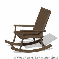 stuhl gif rock the rocking chair a 3d animation with