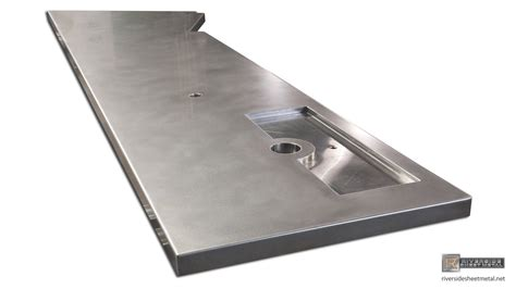 stainless steel bar top stainless steel bar top with beer tap tray