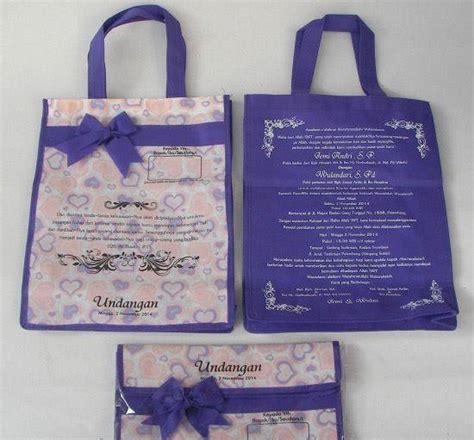 Tas Undangan Pakai Alas Murah Souvenir Pernikahan 3 undangan tas pakai alas undangan pernikahan murah meriah