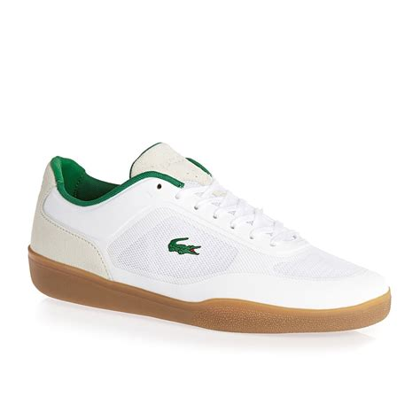 lacoste shoes for lacoste tramline spm shoes white green free uk