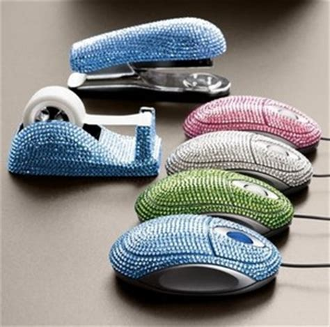 bling desk accessories jeweled desk accessories bling is king the ferret