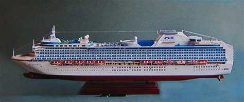 Asian Style Home Decor by Sapphire Princess Cruise Ship Model