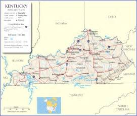 State Of Kentucky Map by Kentucky Map Kentucky State Map Kentucky Road Map Map Of