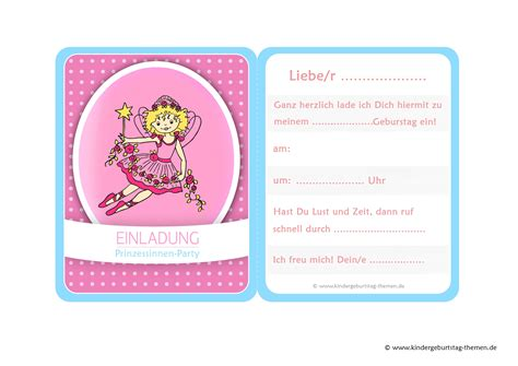 Muster Einladung Kindergeburtstag Einladungskarten Gestalten Einladung Zum Paradies