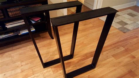metal table legs trapezoid metal dining table legs tapered steel legs
