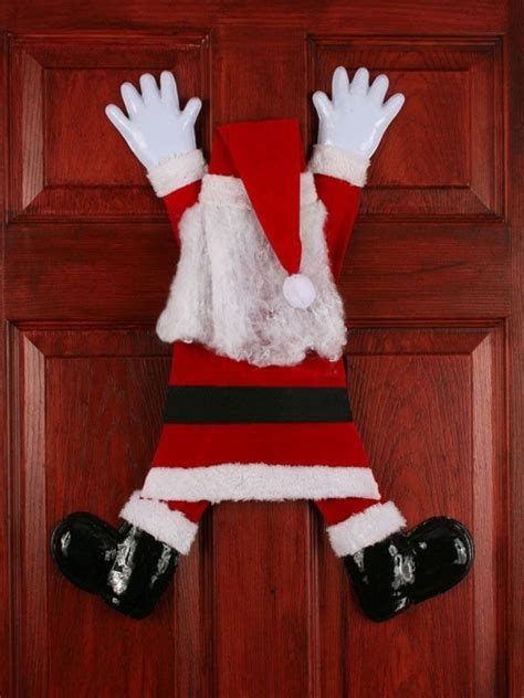 Santa Door Decoration by 40 And Humorous Decorations That Will
