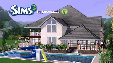 sims 3 house plan free house plans for the sims 3 house plans luxamcc