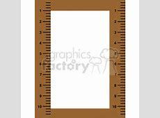 Ruler frame border clipart. Royalty-free clipart # 134289 Girl Soccer Silhouette Clip Art