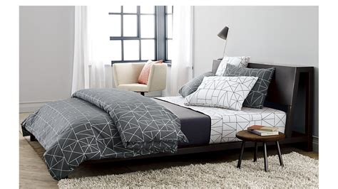 cb2 alpine bed alpine gunmetal bed cb2