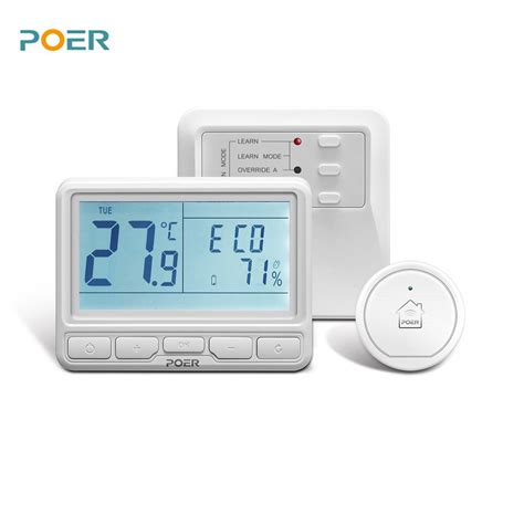 boiler room thermostat aliexpress buy 868mhz wireless boiler room controller heating digital wifi thermostat