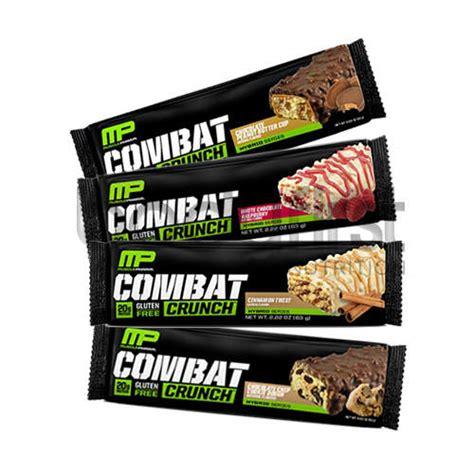 Musclepharm Combat Crunch Mp Combat Crunch Protein Bar 1 pharm combat crunch protein bar 1 x 63g bodyfirst nutrition