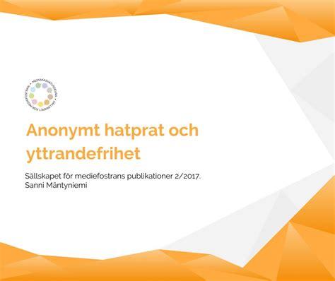 kamagra cialis verkossa anonymt hatprat och yttrandefrihet 187 mediakasvatus