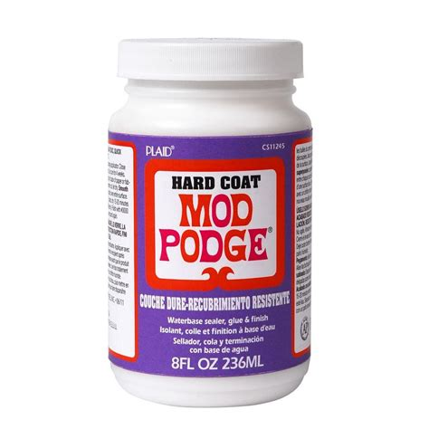 Decoupage Mod Podge - mod podge 8 oz coat decoupage glue cs11245 the