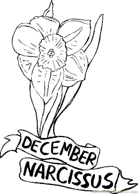 Printable Pages December Calendar Template 2016 December Coloring Page