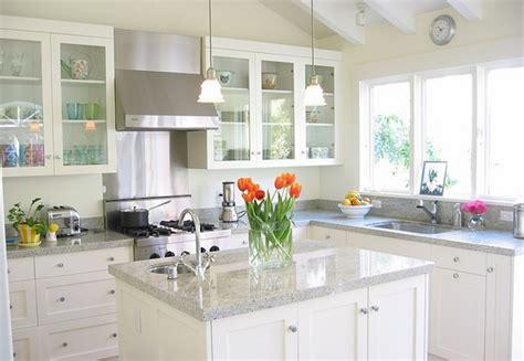luna pearl granite with white cabinets luna pearl granite countertops give your kitchen a