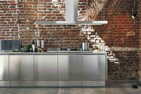Natural Kitchen Cabinets stainless steel kitchen cabinets modernize the kitchen