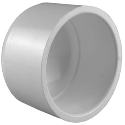 pipe 3 4 in pvc sch 40 socket cap