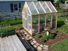 Small Home Greenhouse Design The Sustainable Thoughts On A Backyard Greenhouse