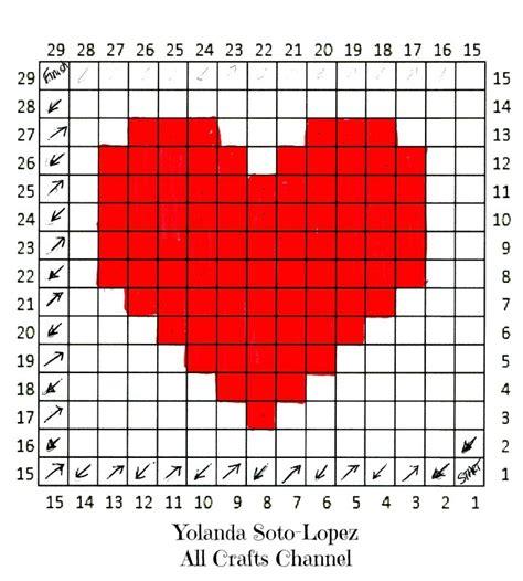 heart pattern programs in c crochet heart easy c2c corner to corner heart square