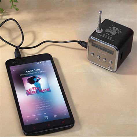 Speaker Laptop Atau Komputer 1 portable tf usb mini stereo speaker player fm radio pc mp3 4 pc03400 11street malaysia