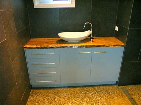 Timber Bathroom Vanities by The Timber Slab Factory Mullumbimby