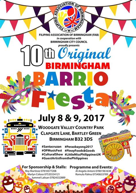 flyer design birmingham 10th original birmingham barrio fiesta events fil