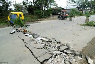 earthquake quezon city philippines earthquake injures and kills residents daily