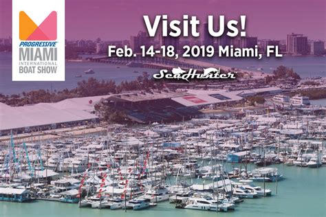 miami boat show 2018 schedule seahunter boats world s best center console offshore