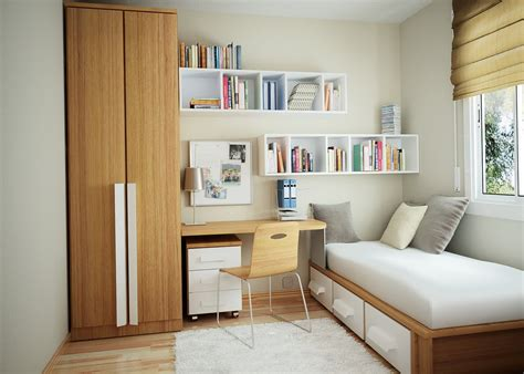 10 Tips On Small Bedroom Interior Design Homesthetics Compact Bedroom Design Ideas