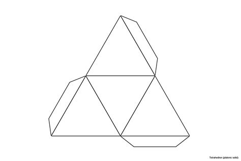file foldable tetrahedron blank jpg wikimedia commons