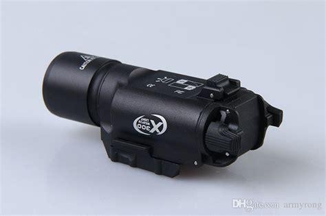 Laser Rifle Scope Whit Flashlight Tactical tactical 500 lumens led rifle flashlight x300 lanterna
