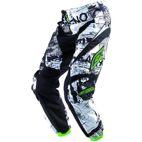 Oneal Element Iv Green oneal element 2013 toxic black green motocross kit junior clothing ghostbikes