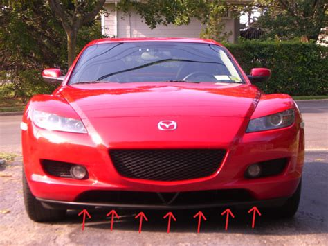 mazda rx8 front grill how do you remove front lip from the 8 rx8club