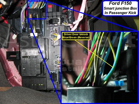 remote starter wiring info  pics  match ford