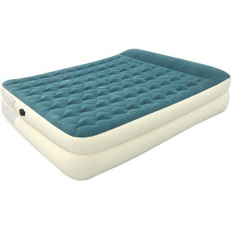 intex 18 quot pillow rest raised airbed mattress with bonus held electric walmart