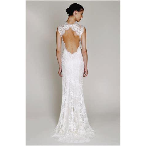 Back Lace Dress W398 lace mermaid open back wedding dress bridal gown wedding dress ideas