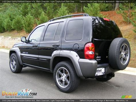 Jeep Liberty Freedom Edition 2003 2003 Jeep Liberty Freedom Edition 4x4 Black Clearcoat