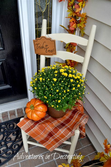 fall decor front porch adventures in decorating our fall front porch