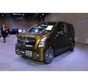 2017 Suzuki Wagon R Stingray Hybrid T Front Three Quarters