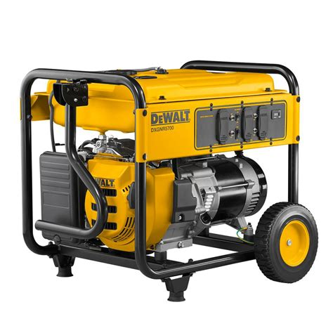 dewalt 5 700 watt gasoline powered recoil start portable