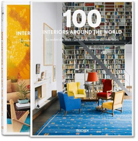 interior book taschen interior hardcover book 100 interiors around the