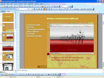 pengaturan layout presentasi slide master presentasi interaktif dengan pegelolaan