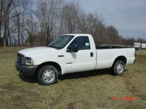 how to work on cars 1996 ford f series electronic valve timing buy used 2004 ford f250 4x2 xl regular cab super duty diesel low mile work truck no rust in